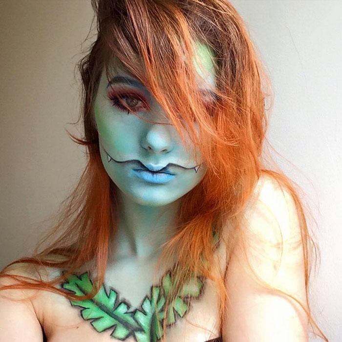 joven artista del maquillaje hace maravillas 30