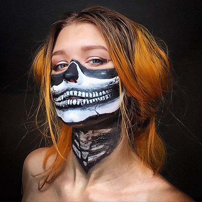 joven artista del maquillaje hace maravillas 31