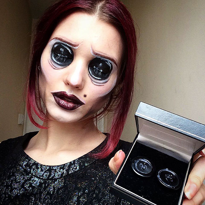 joven artista del maquillaje hace maravillas 5