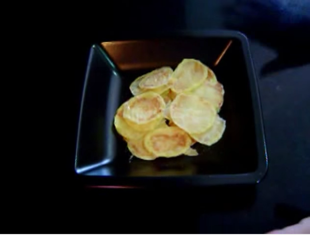 Estas son nuestras deliciosas patatas chips naturales