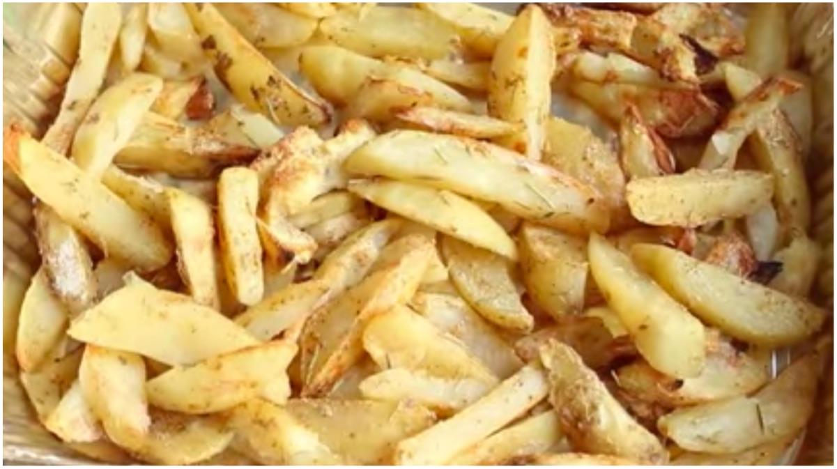 patatas sin aceite
