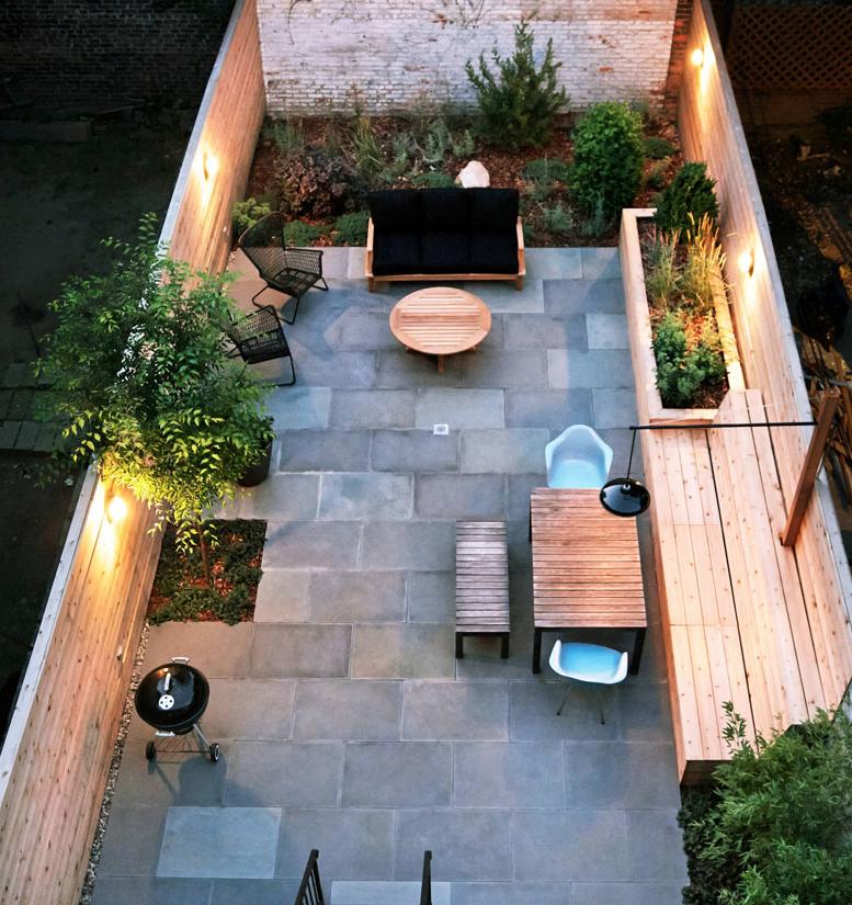 12 Great Ideas For A Modest Backyard: 16 Ejemplos De Inspiración Para Hacer De Tu Patio Un Lugar