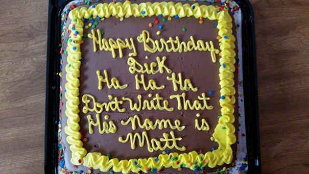 tartas de cumpleaños que salieron mal 1