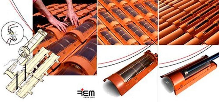 tejas solares tipos 2