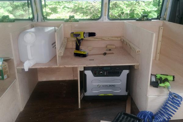 transformando una furgoneta en un estudio movil 12