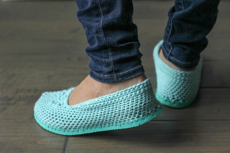 zapatillas de crochet 3