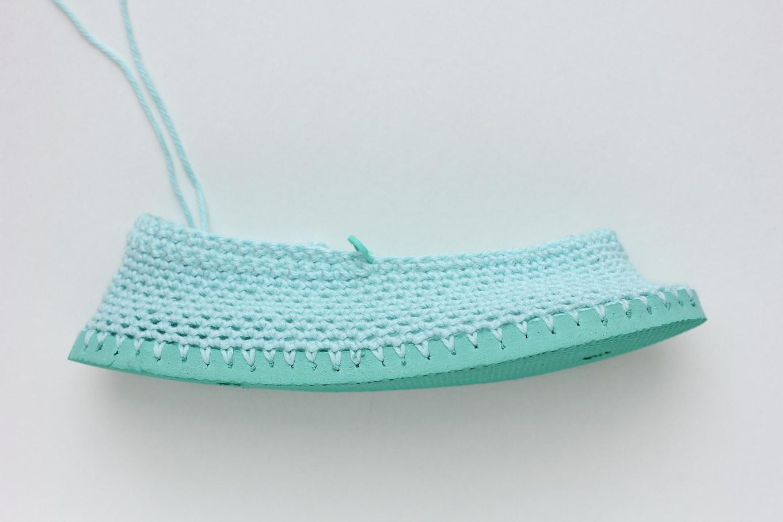 zapatillas de crochet 6