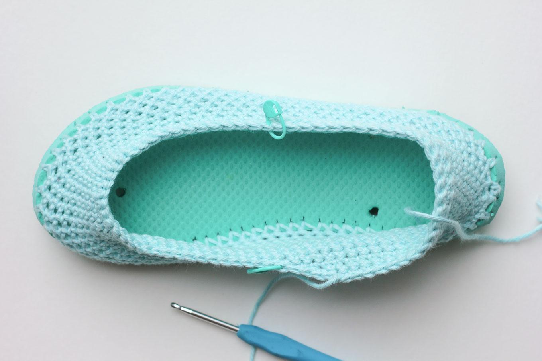 zapatillas de crochet 8