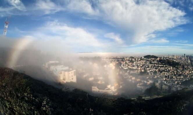 arco iris blancos de niebla 3