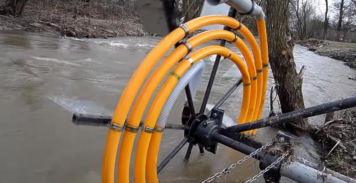 asi funciona una bomba de agua en espiral