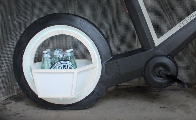 cestas cyclotron en las ruedas