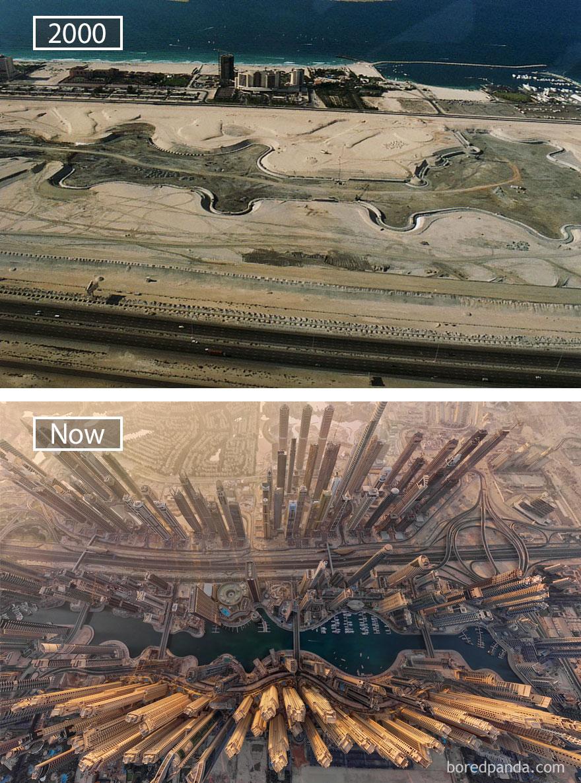 ciudades del mundo antes y ahora 1