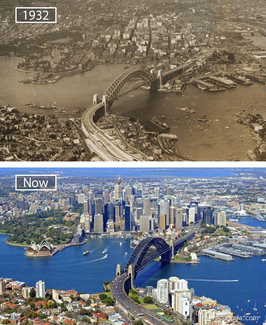 ciudades del mundo antes y ahora 10