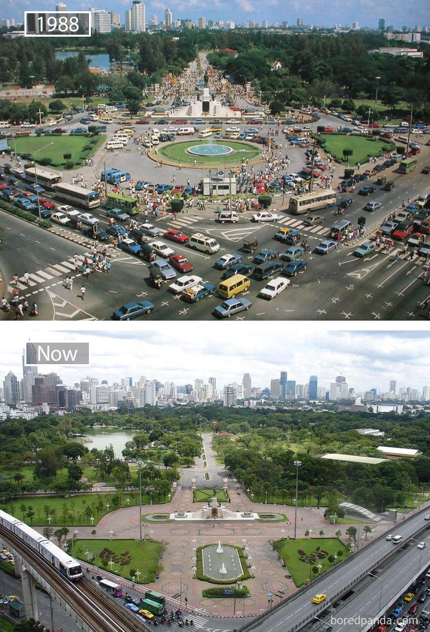 ciudades del mundo antes y ahora 11