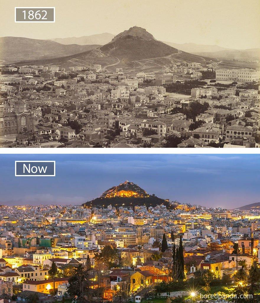 ciudades del mundo antes y ahora 12