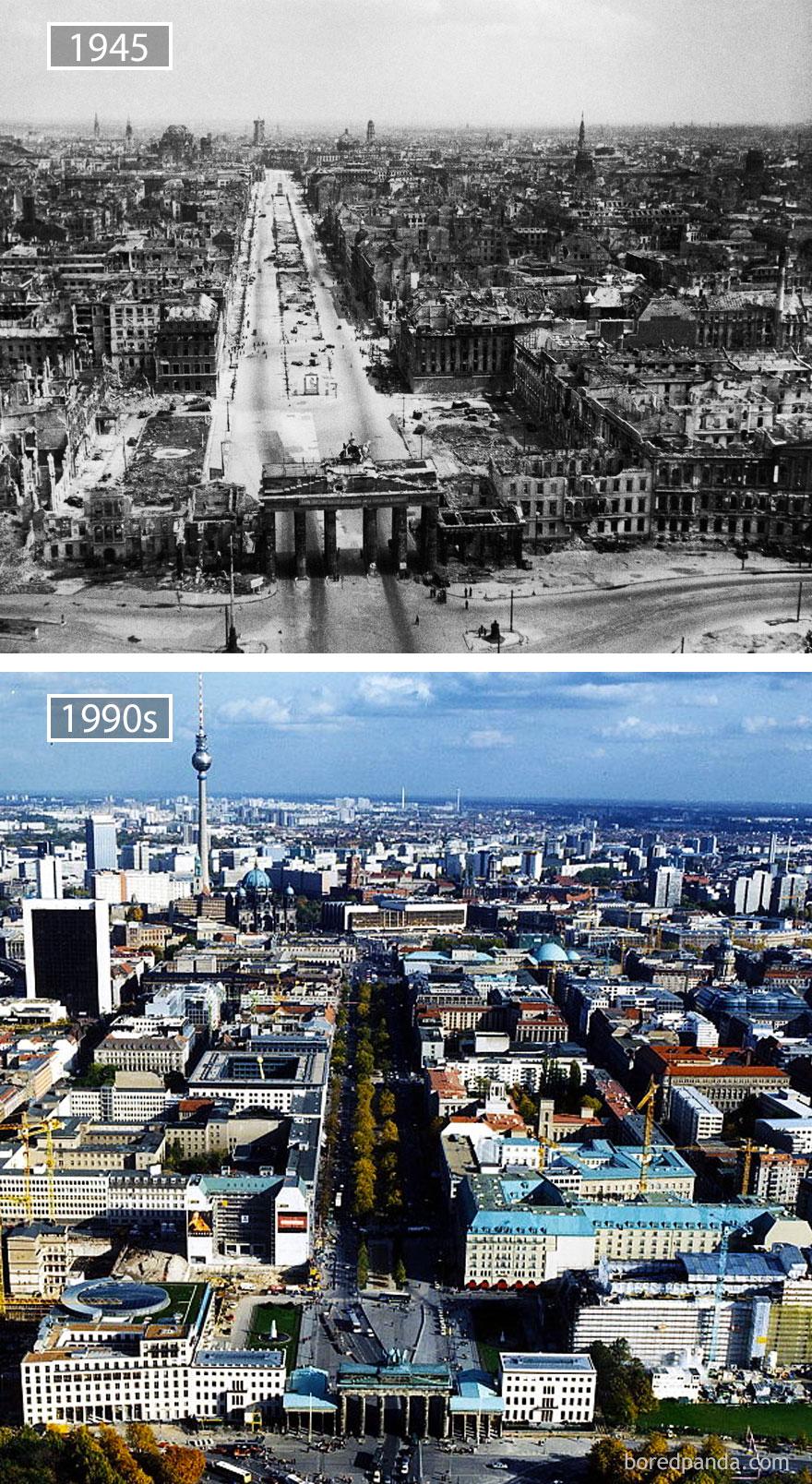 ciudades del mundo antes y ahora 13