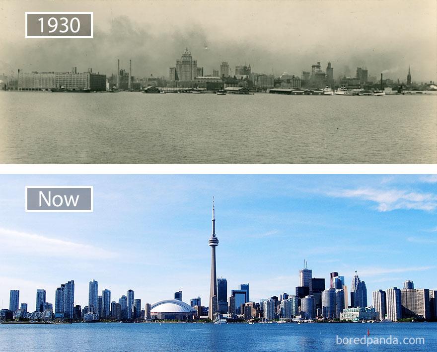 ciudades del mundo antes y ahora 14