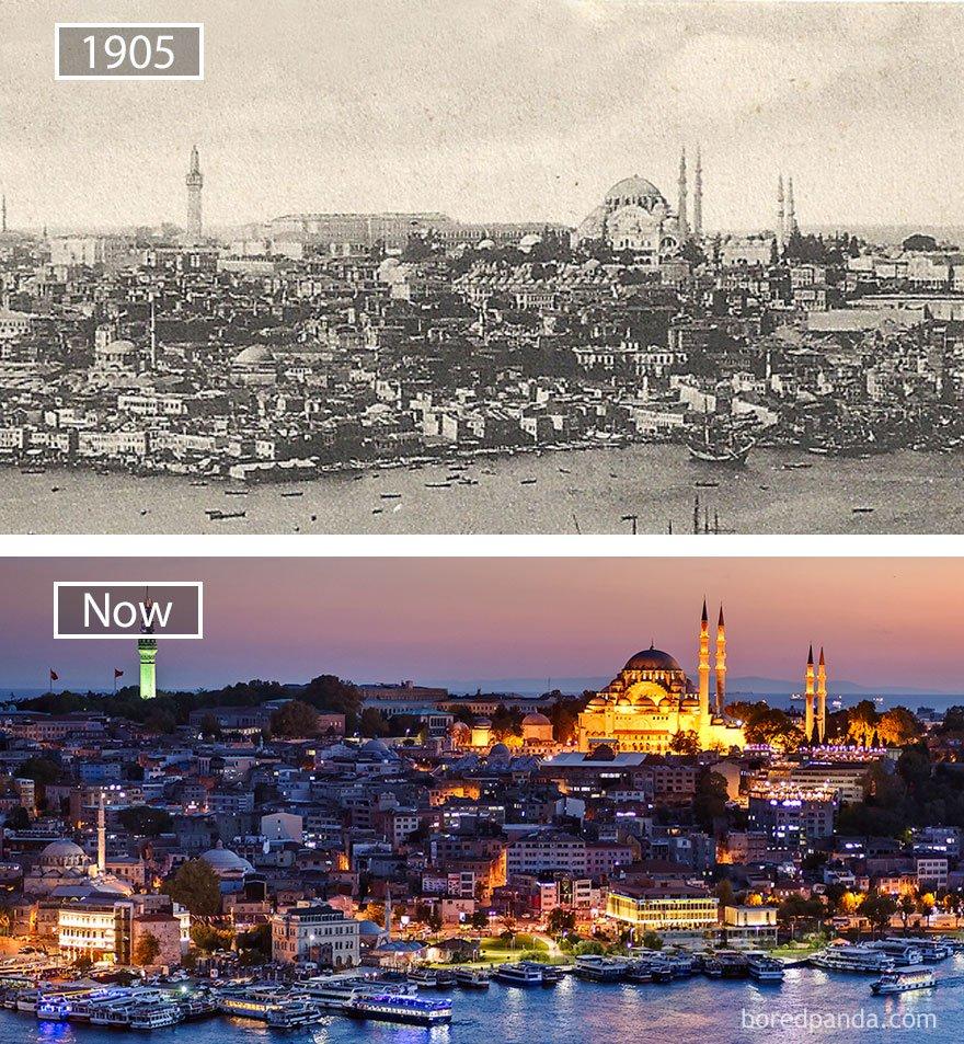 ciudades del mundo antes y ahora 16