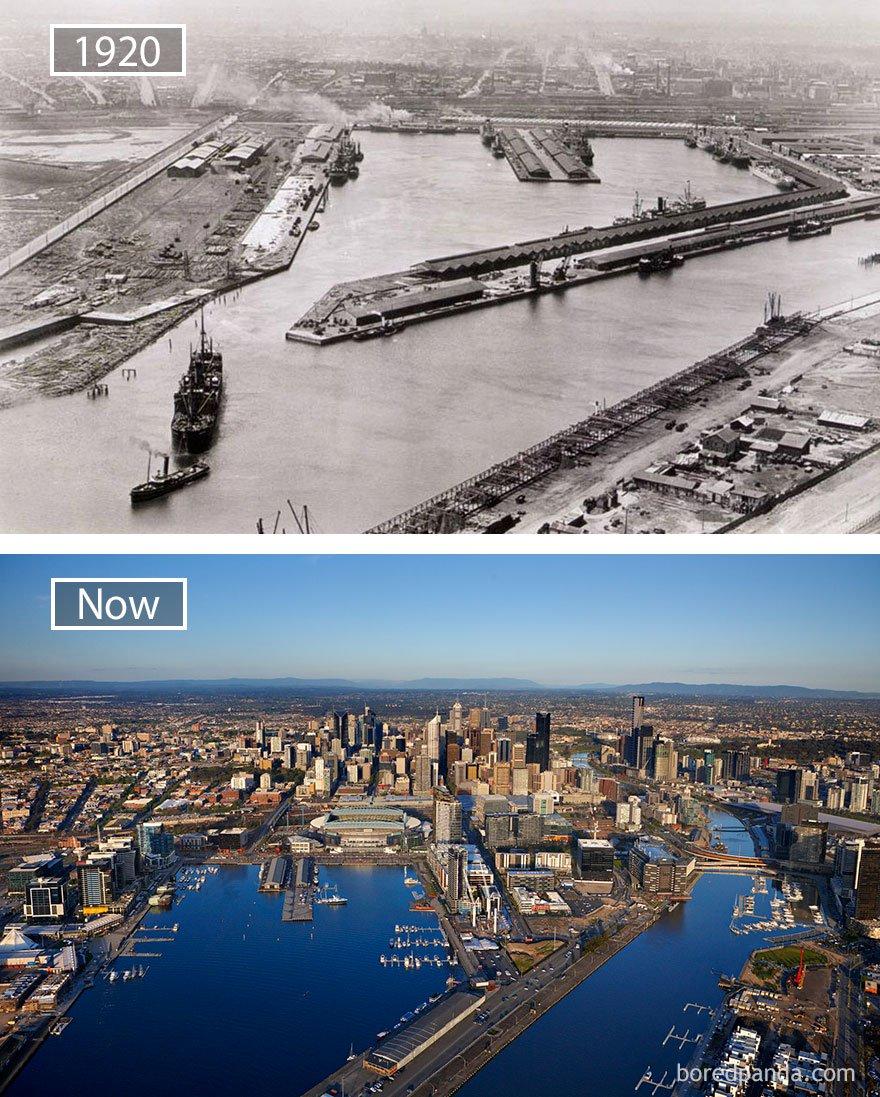 ciudades del mundo antes y ahora 17