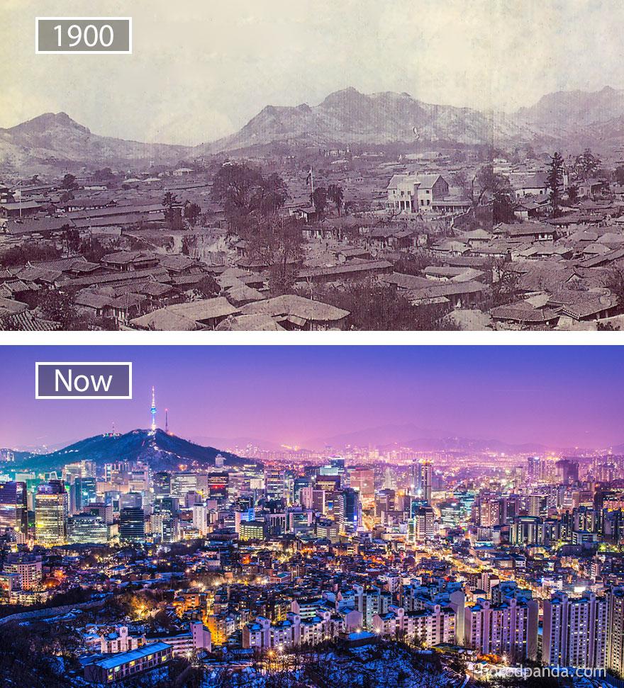 ciudades del mundo antes y ahora 2