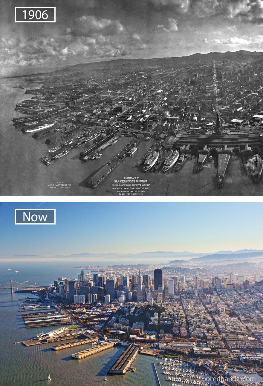 ciudades del mundo antes y ahora 24