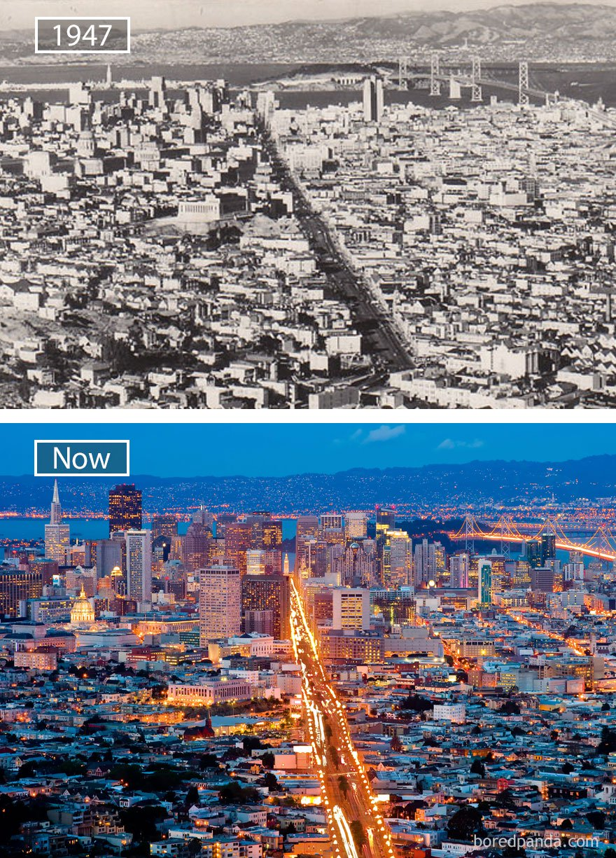 ciudades del mundo antes y ahora 25