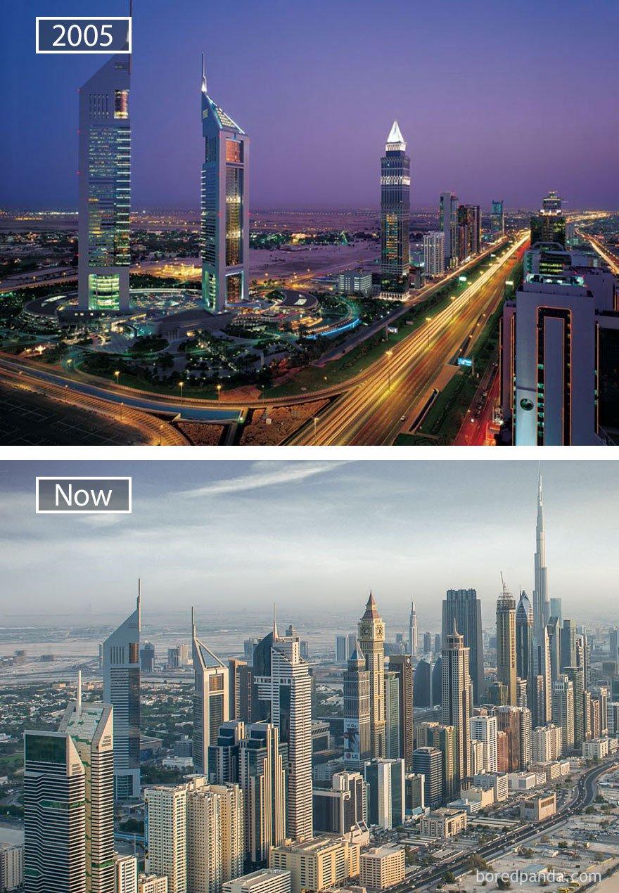 ciudades del mundo antes y ahora 26