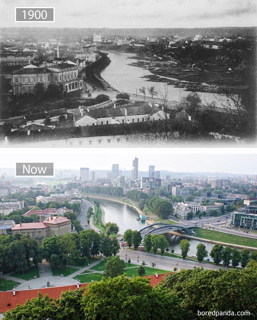 ciudades del mundo antes y ahora 3
