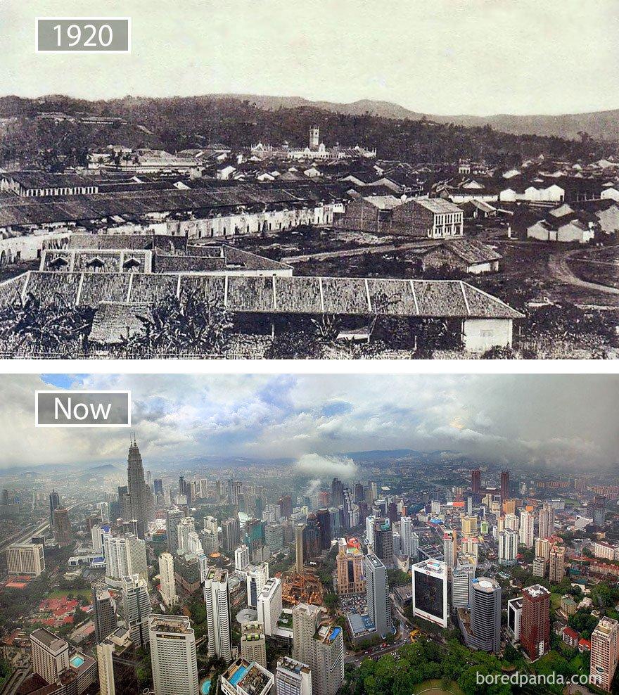 ciudades del mundo antes y ahora 30
