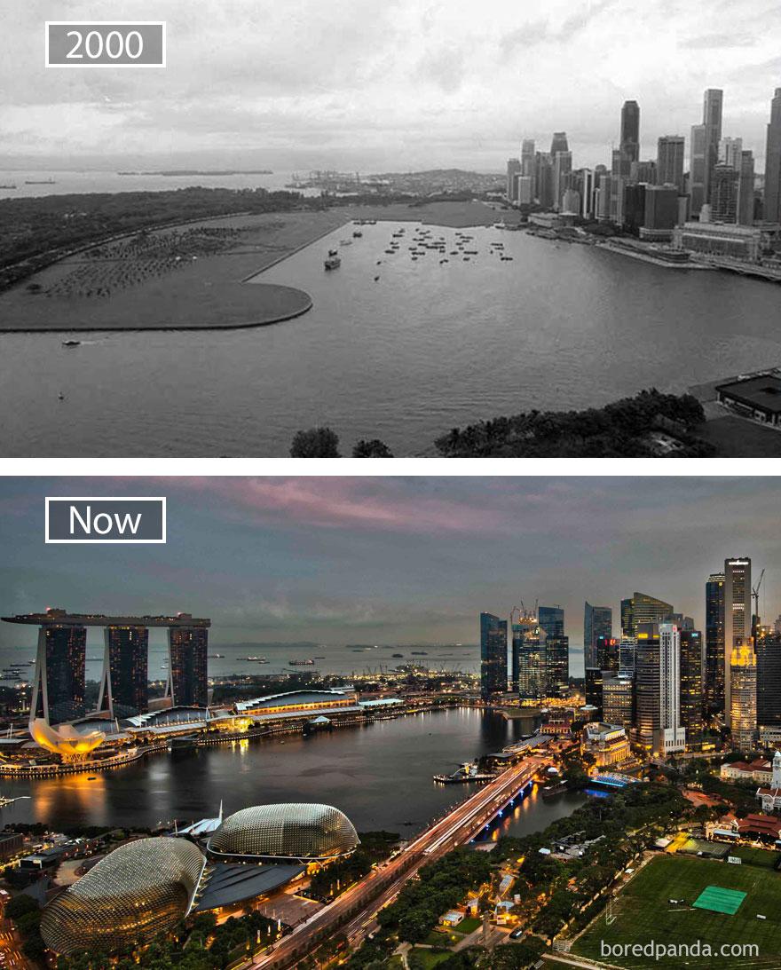 ciudades del mundo antes y ahora 4