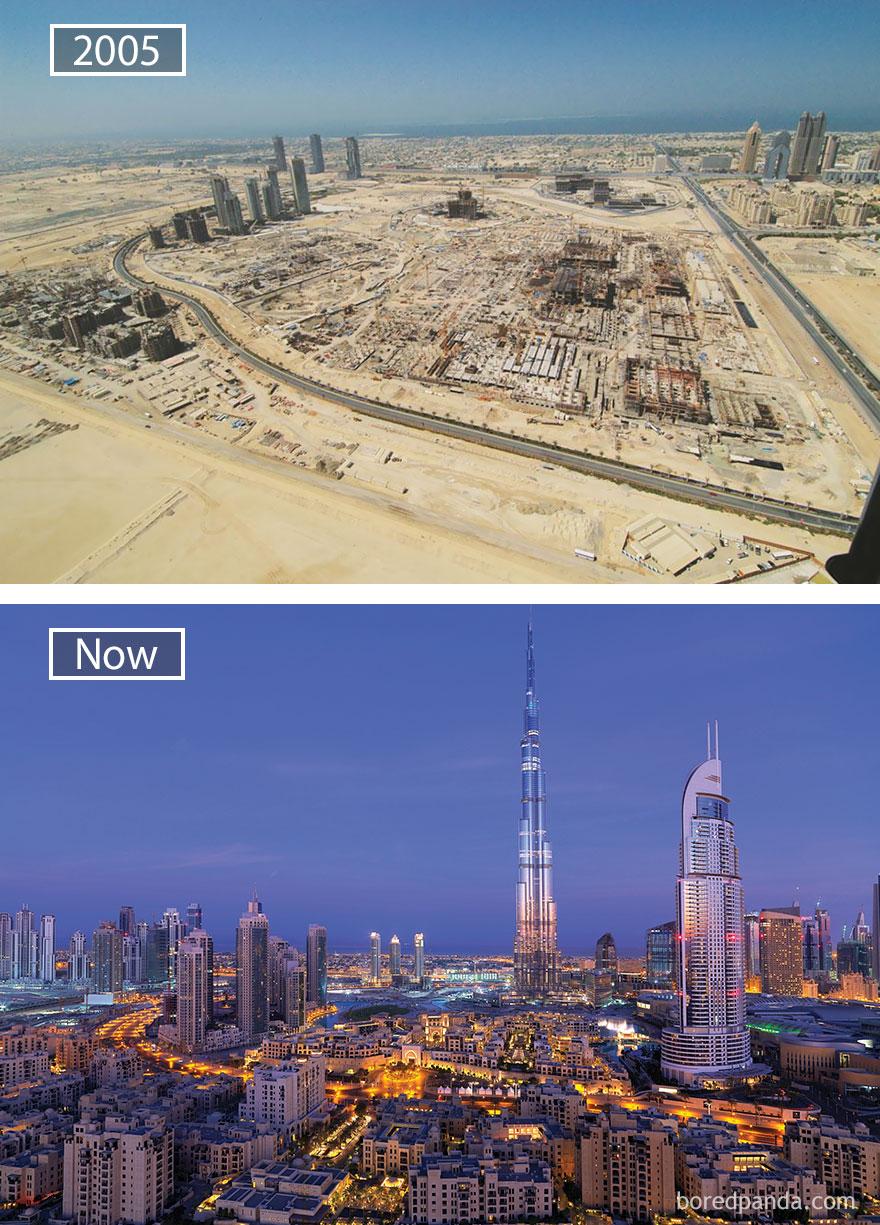 ciudades del mundo antes y ahora 6