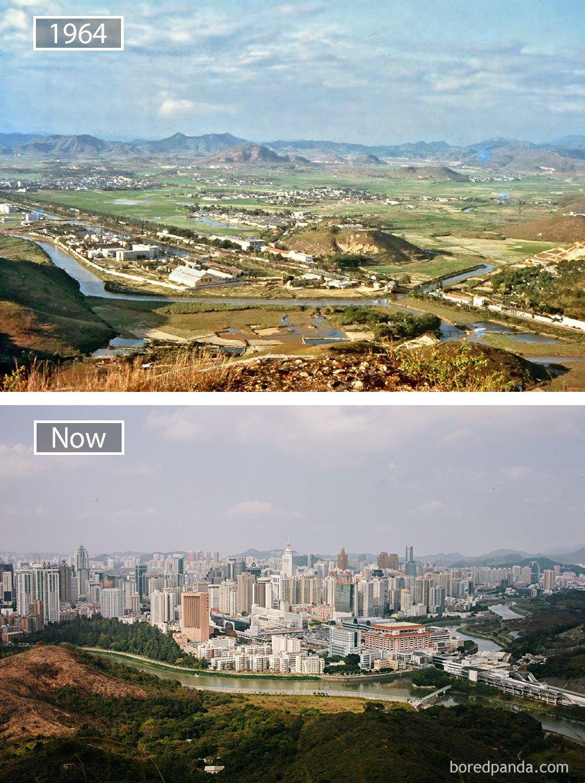 ciudades del mundo antes y ahora 8