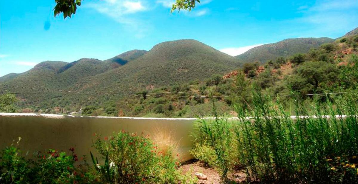 foto de montaña lago y matojos que no es lo que parece