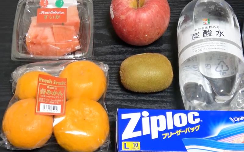 fruta con burbujas 1