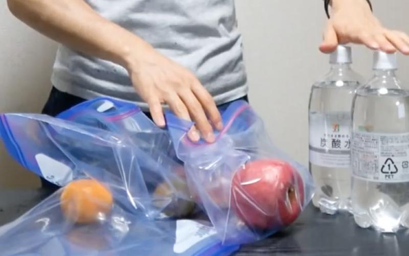 fruta con burbujas 2