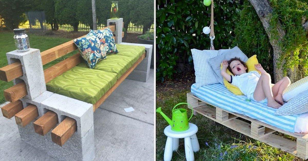 11 ideas lowcost para decorar tu jard n completamente - Ideas originales jardin ...