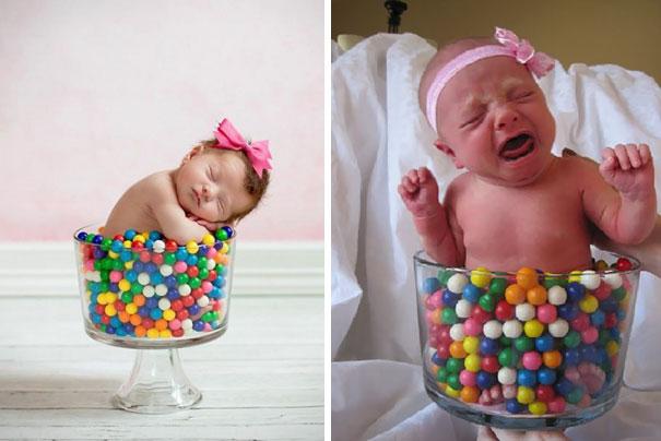 imagenes de bebes expectativas vs realidad 12