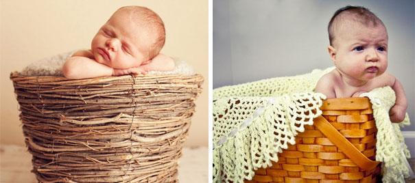 imagenes de bebes expectativas vs realidad 15