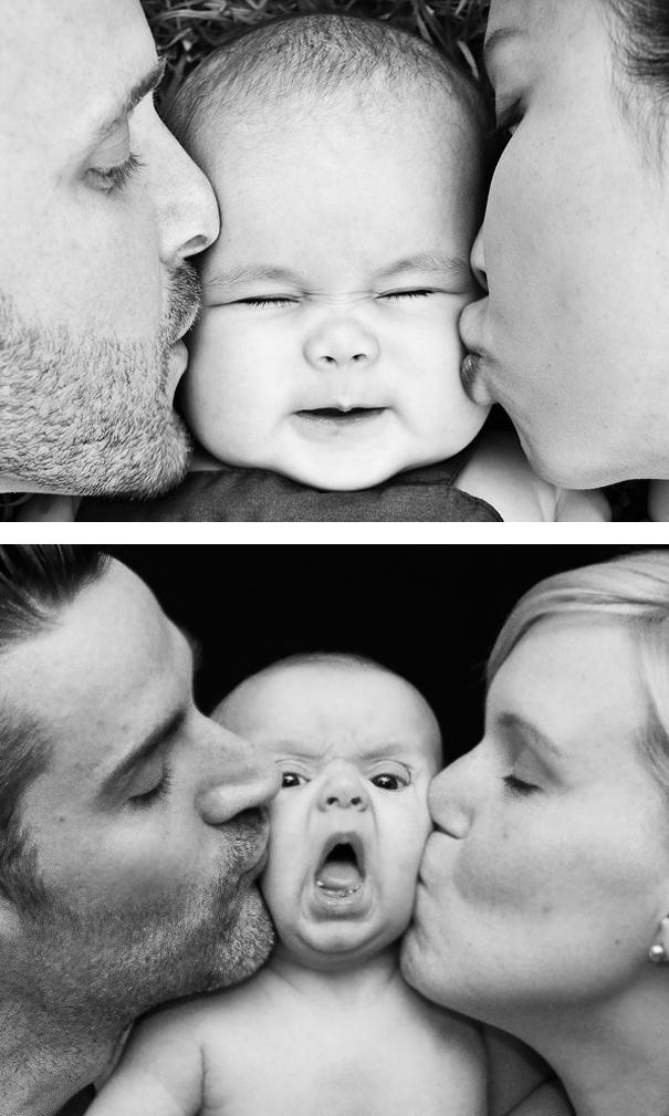 imagenes de bebes expectativas vs realidad 2