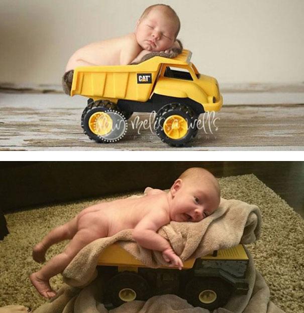 imagenes de bebes expectativas vs realidad 3