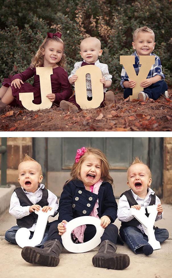 imagenes de bebes expectativas vs realidad 4