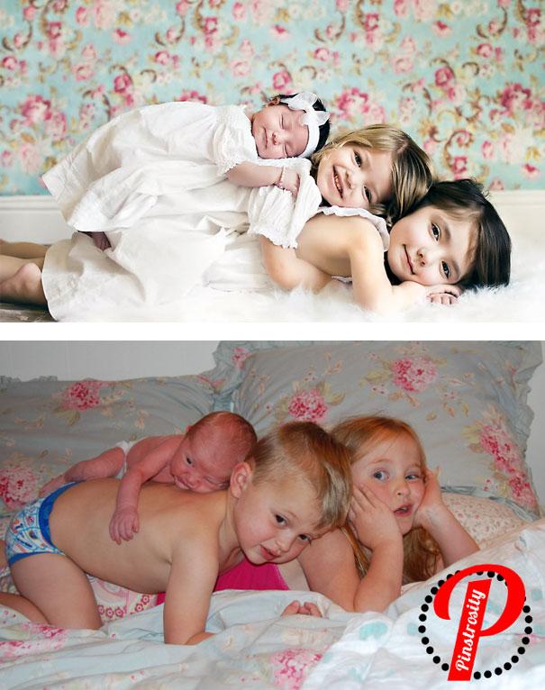 imagenes de bebes expectativas vs realidad 9