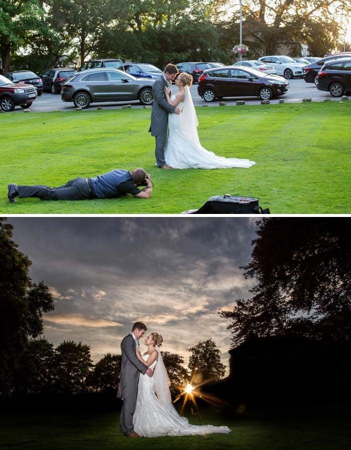 la dura vida de los fotografos de boda 5