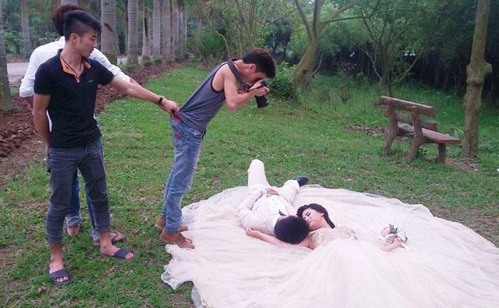 la dura vida de los fotografos de boda 8