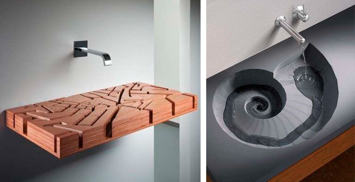 lavamanos de diseño que te sorprenderan