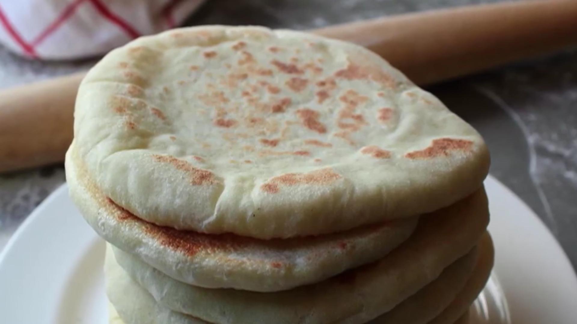 pan de pita casero 1