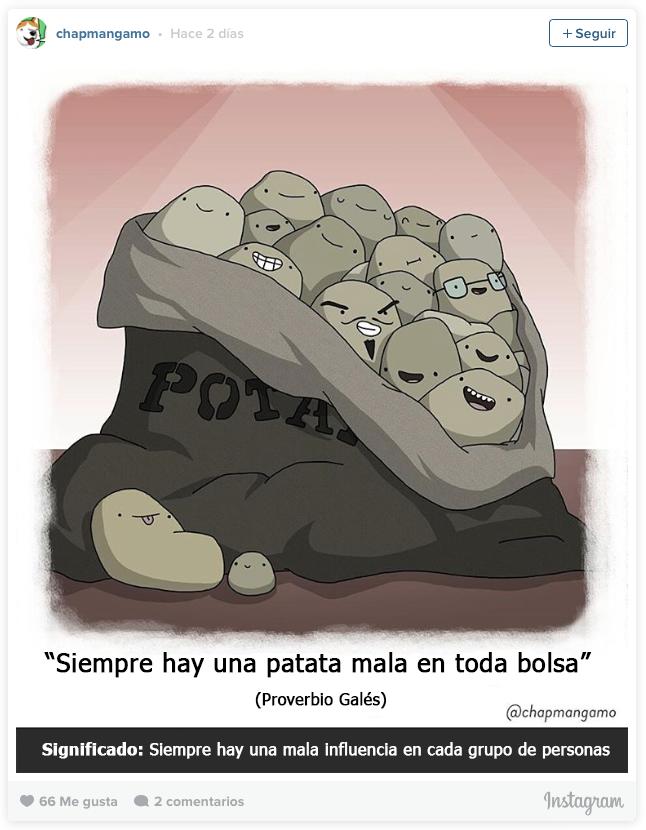 proverbios del mundo convertidos en ilustraciones 8