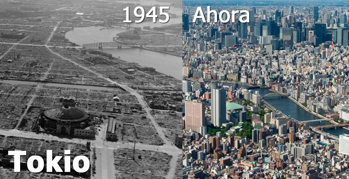 tokio antes y ahora
