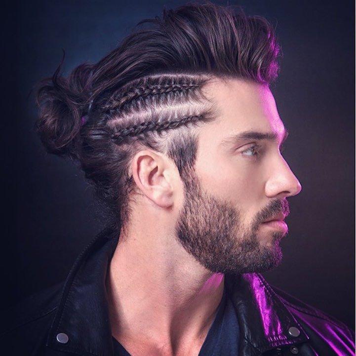 La nueva tendencia en peinados las trenzas para hombres - Peinados de chico ...