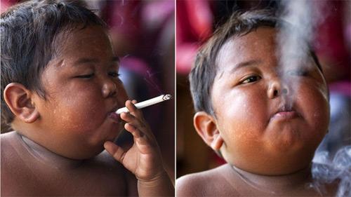 bebe fumador 8